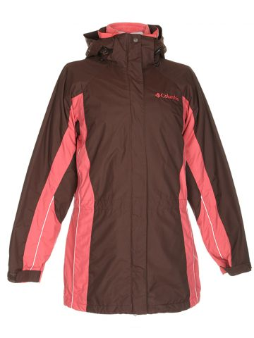 Columbia Brown & Pink Sport Jacket - S