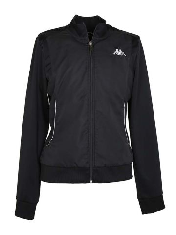 Black Womens Kappa Track Top Jacket - XL