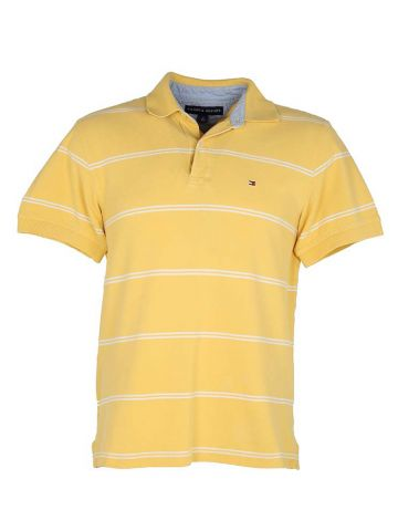 Yellow Tommy Hilfiger Polo Shirt - M