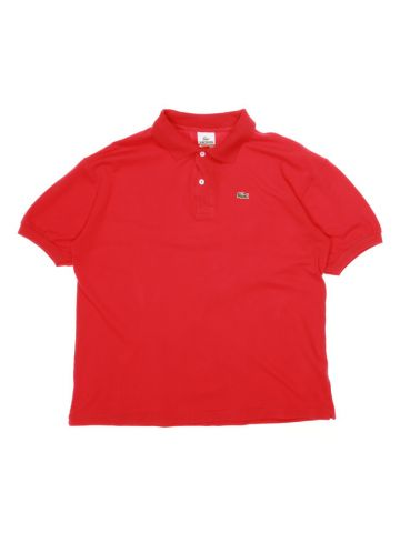 Lacoste Red Polo Shirt - L
